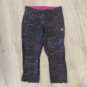 New Balance mesh insert POCKET leggings Medium